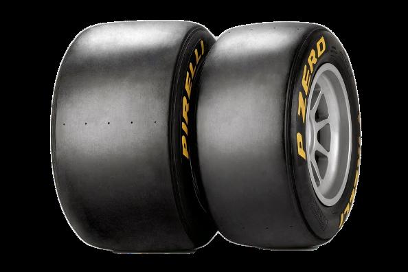 Pneumatiky F1 - slicky