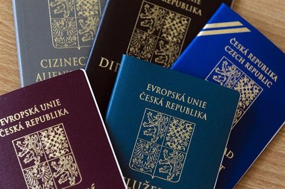 papírové pasy