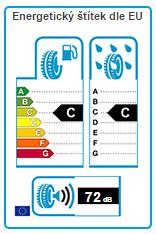 Energetický štítek EU Continental ContiWinterContact TS 850