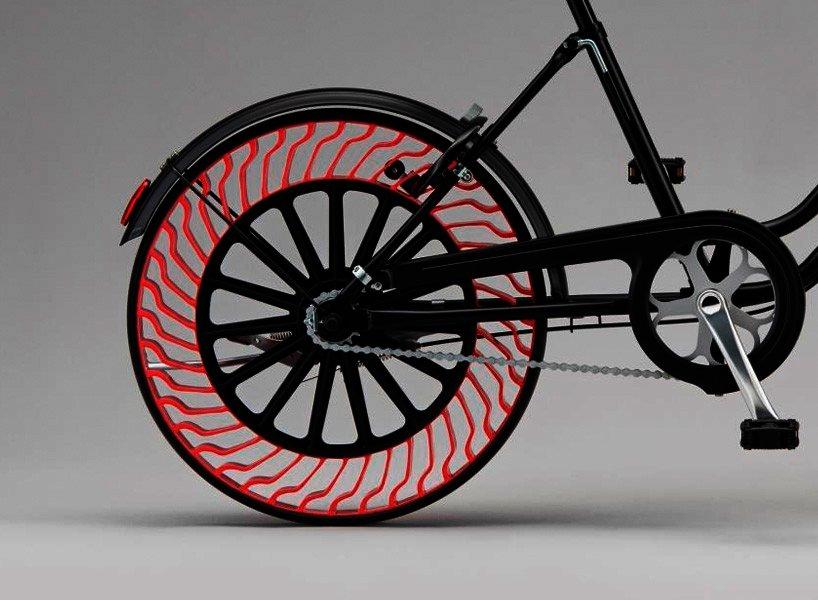 Pneumatika bez vzduchu pro kola
