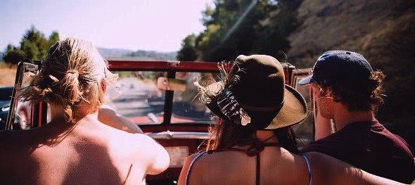 Cestování v létě