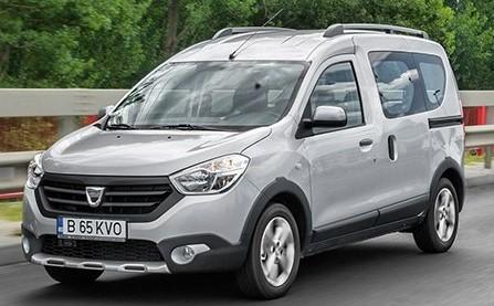 Dodávka značky Dacia