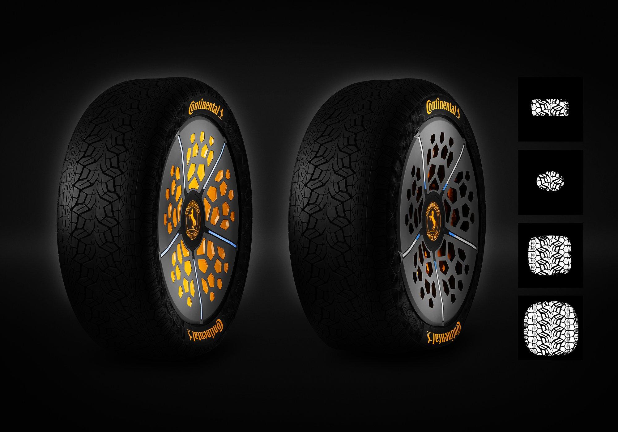 Inteligentní pneumatiky Continentalu