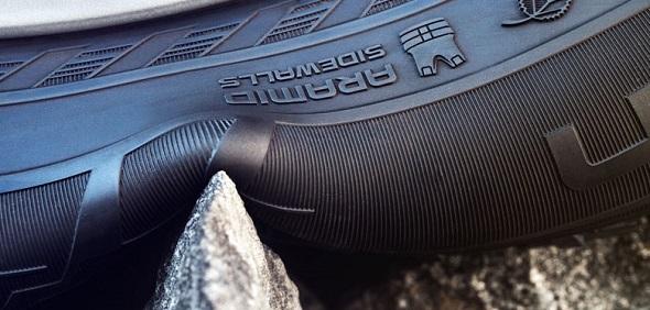 nokian aramid sidewall, aramidové bočnice nokian pro run-flat dojezdové pneumatiky