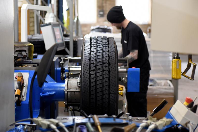 Výroba pneumatik