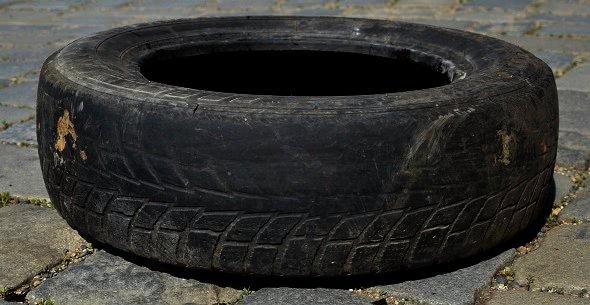 Velmi sjetá pneu