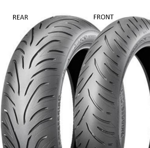 Bridgestone Battlax SC2 Rain 160/60 R15 67 H TL Zadní Skútr
