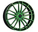 Alu kola Dotz Fast Fifteen green