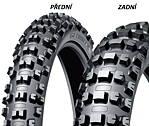 Dunlop AT81 110/90 -19 62 M TT RC, Zadní Terénní