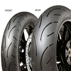 Dunlop SPORTSMART II MAX 190/55 ZR17 75 W TL Zadní Sportovní