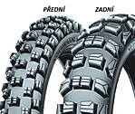 Michelin CROSS COMPETITION M12 XC 120/90 -18 TT Zadní Terénní