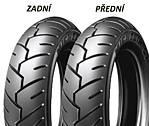 Michelin S1 100/90 -10 56 J TL/TT Přední/Zadní Skútr