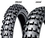 Dunlop AT81 110/100 -18 64 M TT RC, Zadní Terénní