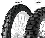 Dunlop D606 90/90 -21 54 R TT Přední Terénní