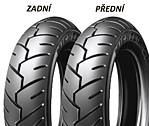 Michelin S1 3/není -10 50 J TL/TT RF RF, Přední/Zadní Skútr