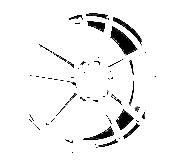 Borbet FF1 (DTP) 8x18 5x112 ET45 Leštěná čelní plocha / Grafitový lak
