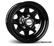 Dotz Dakar dark 7x16 6x139,7 ET13 Černý lak
