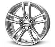 Rial X10 (PS) 7x17 5x120 ET40 Stříbrný lak
