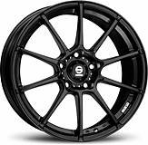 Sparco Gara (Black) 7,5x17 5x105 ET40 Černý mat