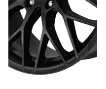 AEZ Antigua dark 8,5x20 5x120 ET33 Matně černý lak