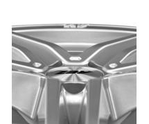 AEZ Portofino 8x17 5x112 ET35 Titanový lesk