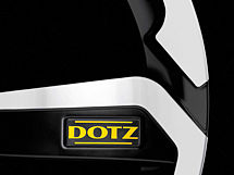 Dotz Hanzo 7,5x17 5x114,3 ET48 Leštěná čelní plocha / Matně černý lak
