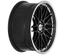 Dotz Revvo dark 9,5x19 5x120 ET40 Leštěný límec / Metalický šedý lak