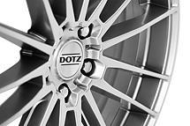 Dotz Thunder 8x17 5x120 ET34 Titanový lesk