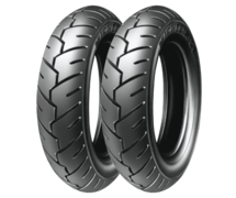 Michelin S1 80/90 -10 44 J TL/TT Přední/Zadní Skútr