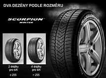 Pirelli SCORPION WINTER 255/50 R20 109 H XL FR Zimní