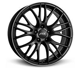 ATS Perfektion (RSHP) 8,5x19 5x112 ET35 Frézovaný lem / Černý mat