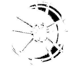 Borbet FF1 (DTP) 8x18 5x114,3 ET45 Leštěná čelní plocha / Grafitový lak