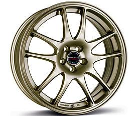 Borbet RS (BRO) 7,5x18 4x100 ET35 Bronzový mat