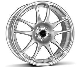 Borbet RS (BS) 7x17 4x100 ET35 Stříbrný lak