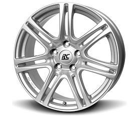 Brock RC28 (KS) 6,5x15 5x100 ET38 Stříbrný lak