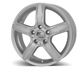 Brock RCD10 (KS) 6x15 4x108 ET25 Stříbrný lak