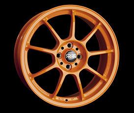 OZ ALLEGGERITA HLT 4F Orange 7x17 4x100 ET30 Oranžový lak