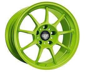 OZ ALLEGGERITA HLT 5F Green 7,5x17 5x98 ET35 Zelený lak