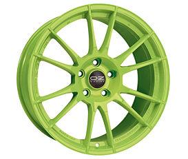 OZ ULTRALEGGERA HLT Green 10x20 5x114,3 ET35 Zelený lak