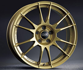 OZ ULTRALEGGERA HLT RG 11x19 5x130 ET50 Zlatý lak