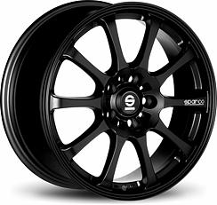 Sparco Drift (Black) 8x17 5x100 ET35 Černý mat