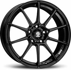 Sparco Gara (Black) 7x16 5x112 ET35 Černý mat