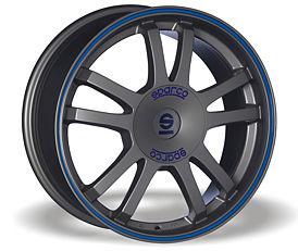 Sparco Rally (MS) 7,5x17 5x114,3 ET45 Šedostříbrný mat