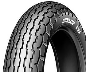 Dunlop F11 100/90 -19 57 H TT L, Přední Cestovní