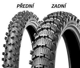 Dunlop GEOMAX MX11 80/100 -21 51 M TT Přední Terénní