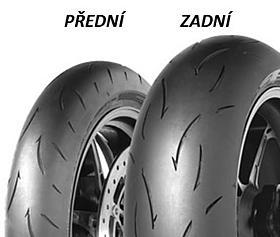 Dunlop SP MAX D212 GP PRO4 190/55 ZR17 75 W TL Zadní Závodní