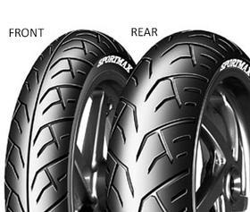 Dunlop SPMAX TOUR D205 140/70 R18 67 V TL Zadní Sportovní/Cestovní