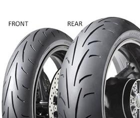Dunlop SX SPORTSMART II 180/60 ZR17 75 W TL Zadní Sportovní