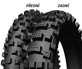 Michelin CROSS AC10 120/90 -18 65 R TT Zadní Terénní