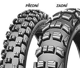 Michelin CROSS COMPETITION M12 XC 120/80 -19 TT Zadní Terénní